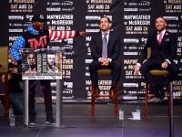 Пресс-конференция Мейвезера и Макгрегора (Фото)