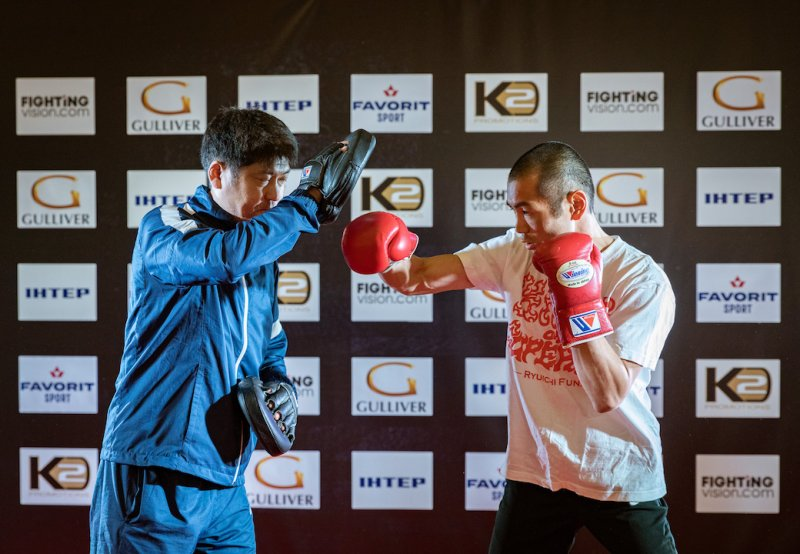 Беринчик vs Аракава: открытая тренировка (Фото, Видео) - «Спорт»