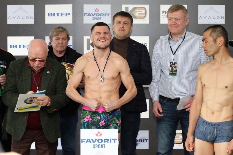 Беринчик – Аракава и Митрофанов – Вальехо: результаты взвешивания и фото - «Бокс»