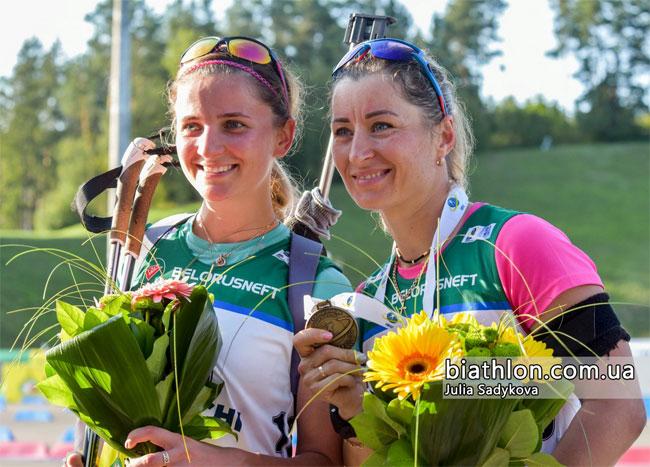 Вита Семеренко выиграла бронзу в гонке преследования на ЧМ по летнему биатлону