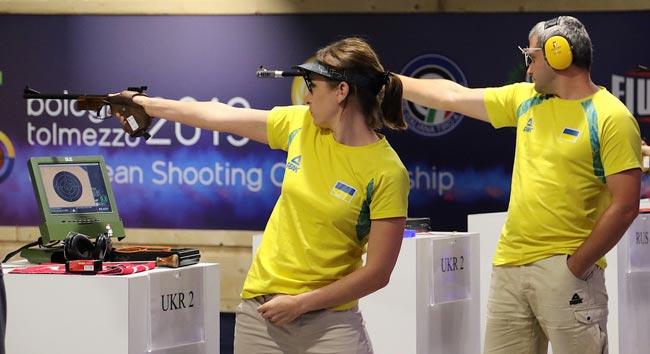 Украинские пистолетчики выиграли пять медалей в третий день финалов на ЧЕ в Италии - «Спорт»