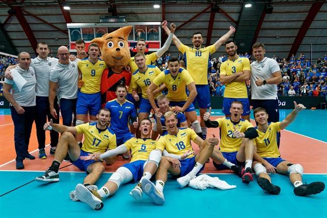 Во Франции Словении Бельгии и Нидерландах проходит финальный раунд XXXI чемпионата Европы по волейболу среди мужских команд