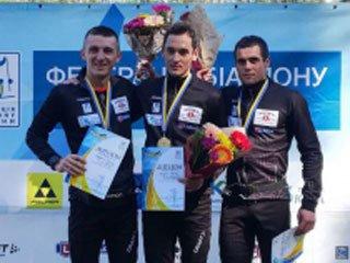 Артем Тищенко выиграл спринт на летнем чемпионате Украины по биатлону - «Биатлон»