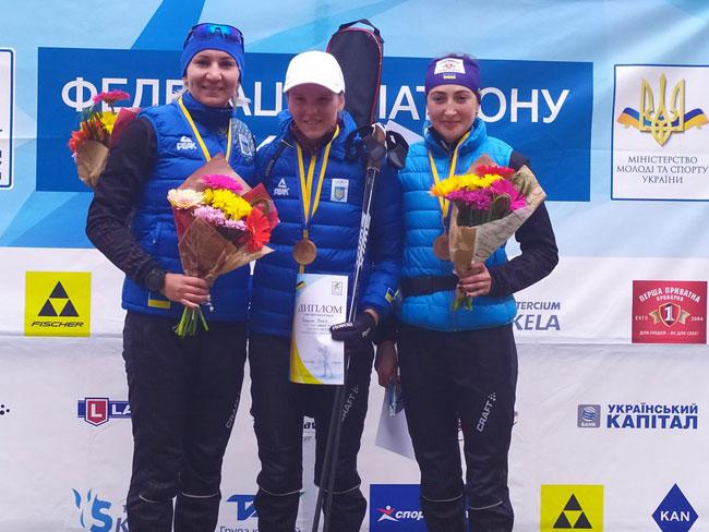 Дарья Блашко выиграла спринт на летнем чемпионате Украины по биатлону - «Биатлон»