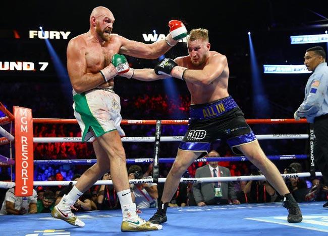 Отто Уаллин хочет получить реванш с Тайсоном Фьюри - «Бокс»