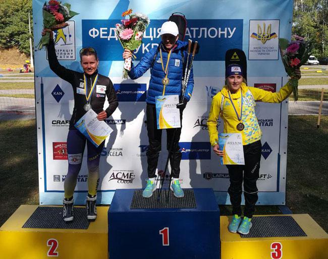 Блашко и Цымбал – выиграли гонки преследования на летнем чемпионате Украины по биатлону - «Биатлон»