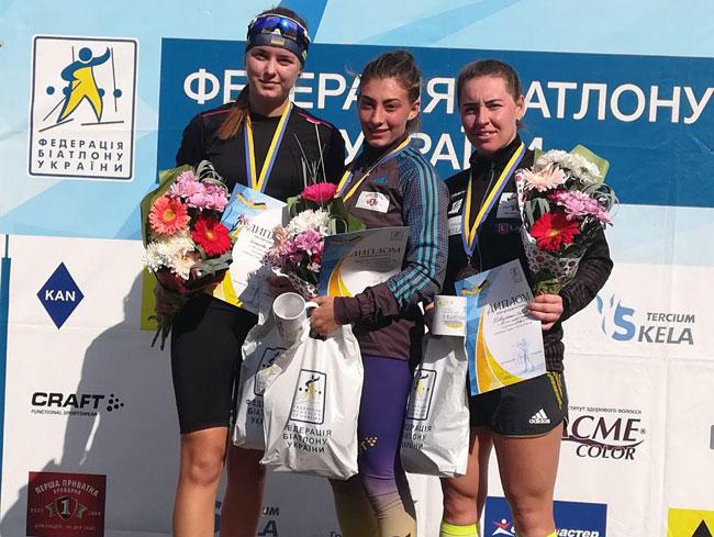 Дидоренко и Боровик – выиграли гонки с масс-старта на летнем чемпионате Украины по биатлону - «Биатлон»