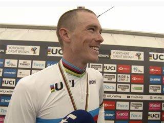 Роан Деннис защитил титул чемпиона мира в велогонке с раздельным стартом - «Велоспорт»