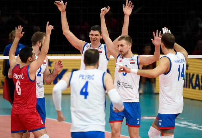 Волейбол. ЧЕ-2019 (муж). Сербия вышла в финал, одолев на тай-брейке Францию