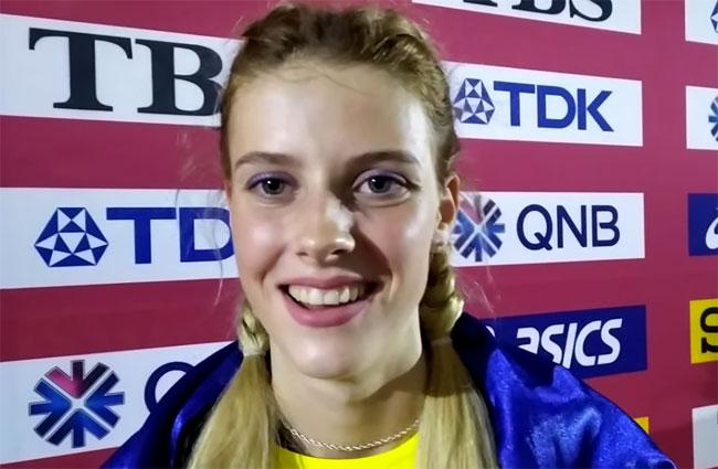 Ярослава Магучих – серебряный призер чемпионата мира в прыжках в высоту - «Легкая атлетика»