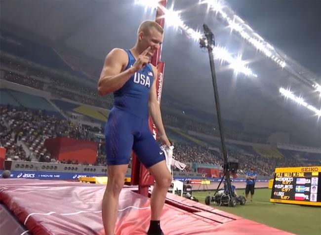 Легкая атлетика. ЧМ-2019. Сэм Кендрикс победил в прыжках с шестом (+Видео) - «Легкая атлетика»