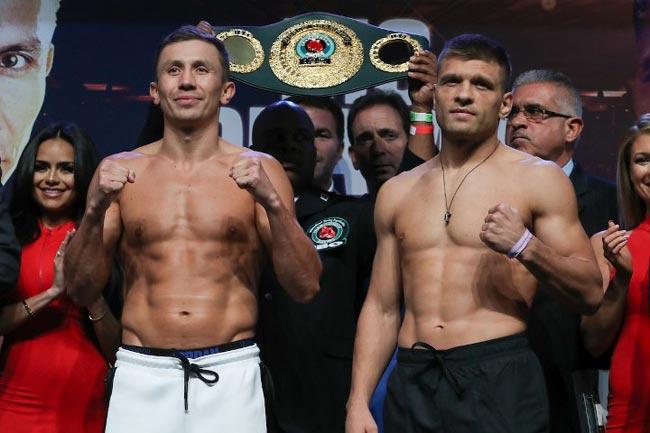 Стали известны гонорары Головкина и Деревянченко за бой 5 октября - «Бокс»