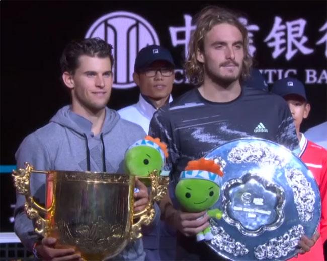 Пекин. Тим победил в финале Циципаса - «Теннис»