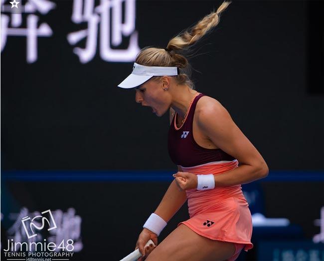 Тяньцзинь. Ястремская стартовала с победы - «Теннис»