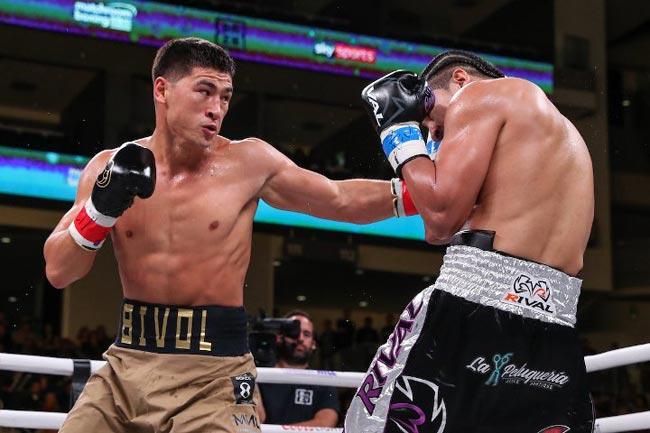Победа Бивола над Кастильо в фотографиях - «Бокс»