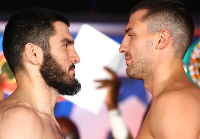 Гвоздик vs Бетербиев: результаты взвешивания (Видео, фото) - «Бокс»