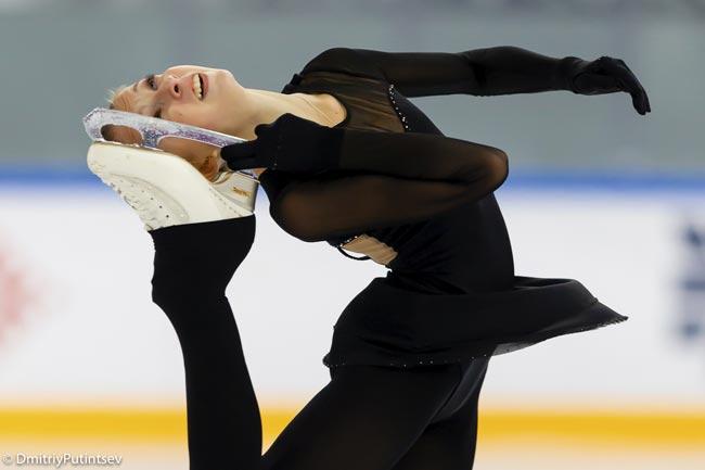 Анастасия Шаботова выиграла турнир по фигурному катанию Ice Star