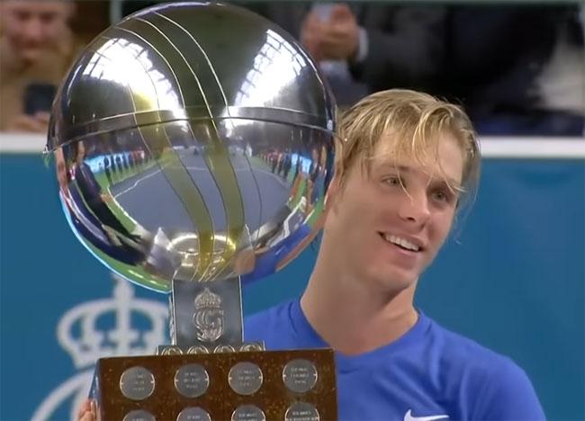Стокгольм. Шаповалов выиграл первый титул в карьере - «Теннис»