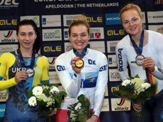 Старикова и Соловей – призеры чемпионата Европы по велотреку - «Велоспорт»