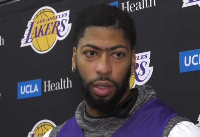Дэвис объяснил, как Леброн облегчает игру партнерам - «Баскетбол»