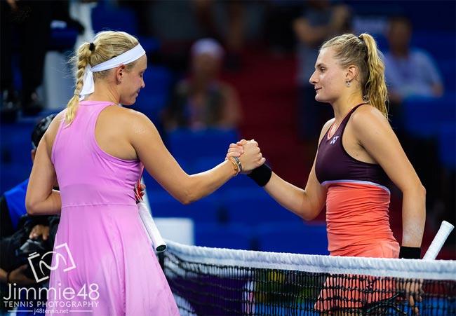 Даяна Ястремская прокомментировала первую победу на турнире «Элит Трофи» - «Теннис»