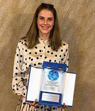 Ярослава Магучих выиграла награду Европейского олимпийского комитета - «Легкая атлетика»