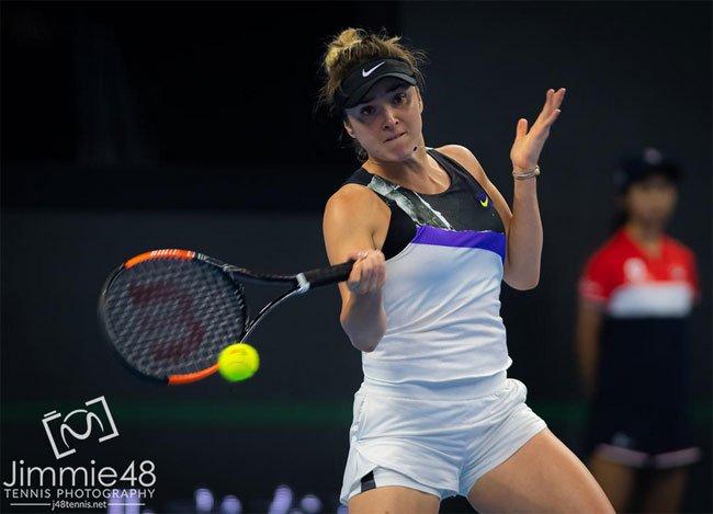 Итоговый турнир WTA. Свитолина победой над Кенин завершила групповой этап - «Теннис»