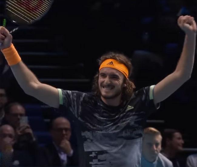 Итоговый чемпионат ATP. Циципас обыграл Зверева и вышел в полуфинал - «Теннис»