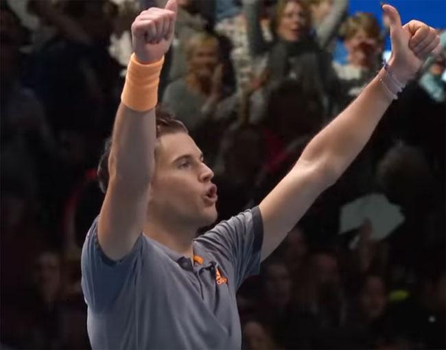 Итоговый чемпионат ATP. Тим обыграл Зверева и стал вторым финалистом - «Теннис»