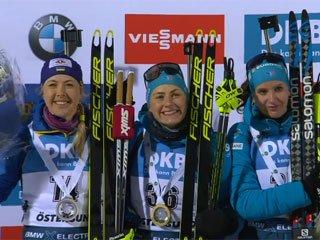 Джима выиграла серебро в индивидуальной гонке на этапе КМ в Эстерсунде - «Биатлон»