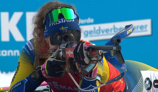 Шведка Эберг выиграла масс-старт на этапе Кубка мира в Поклюке; Джима – 25-я