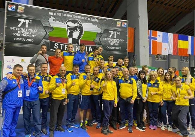 Украинские боксеры завоевали 10 медалей на турнире «Странджа-2020» в Софии