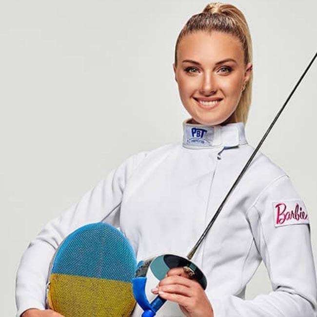 Ольга Харлан стала прототипом куклы Barbie - «ФЕХТОВАНИЕ»
