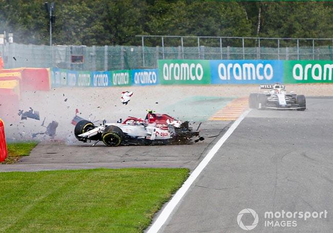 Самая зрелищная авария в Формуле 1 в сезоне 2020 года (Фото, видео) - «Авто - Мото»