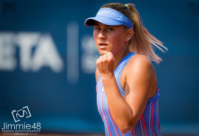 US Open. Костюк разгромила Касаткинцу и вышла во второй круг