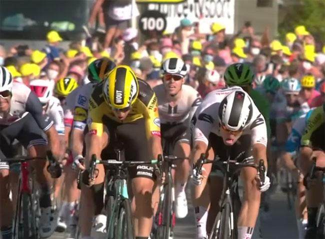 «Тур де Франс». Бельгиец Воут ван Арт победил на 5-м этапе (+Видео) - «ВЕЛОСПОРТ»