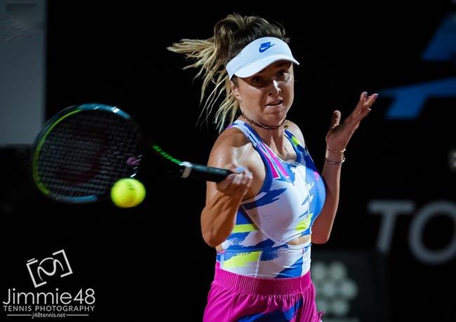 Элина Свитолина стартовала с победы на турнире в Риме