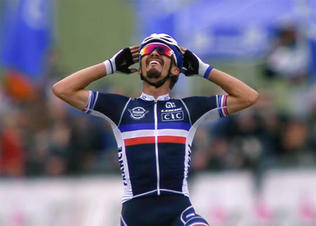 Француз Алафилипп и голландка ван дер Бреген победили в групповых гонках на ЧМ по велошоссе; Высоцкая – 57-я, Будяк – 87-й (+Видео)