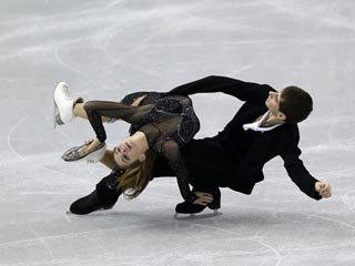 Украинские танцоры Назарова и Никитин - шестые на Гран-при в Москве