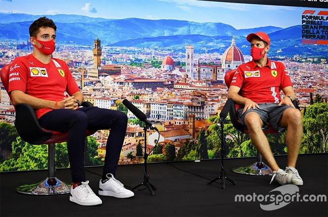 Леклер вытеснил Феттеля из Ferrari? Себ не согласен