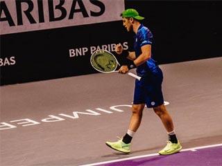 Илья Марченко вышел во второй круг «челенджера» во Франции. Фото Open Quimper