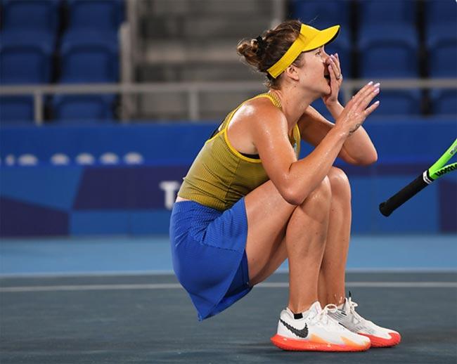 Элина Свитолина: Рада, что смогла победить, эта «бронза» много для меня значит