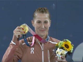 Олимпиада-2020. Швейцарка Бенчич – чемпионка по теннису в одиночном разряде