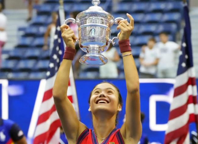 US Open. 18-летняя британка Эмма Радукану стала чемпионкой турнира